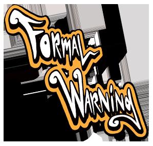Formal Warning